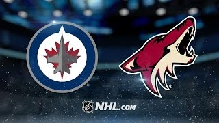 Perlini, strong 1st period help Coyotes edge Jets
