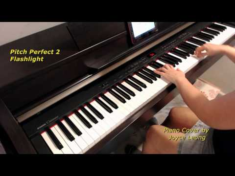 Jessie J - Flashlight (Pitch Perfect 2) - Easier Version - Piano Cover and Sheets