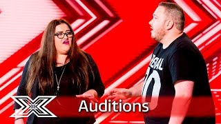 Tom and Laura make their bid for stardom with Sex on Fire | Auditions Week 2 | The X Factor UK 2016