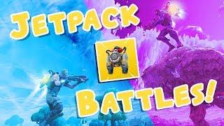 INSANE Jetpack Battles!!! - Fortnite Gameplay
