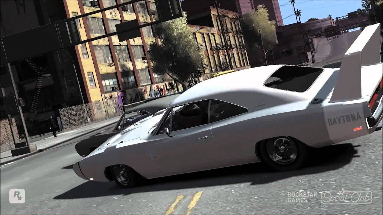 Gta Iv 1969 Dodge Charger Daytona Vs 1969 Dodge Charger Rt