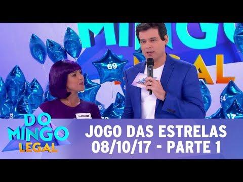 Jogo das Estrelas - Parte 1 | Domingo Legal (08/10/17)