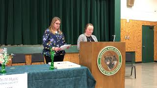 Tri-M Society Induction Ceremony