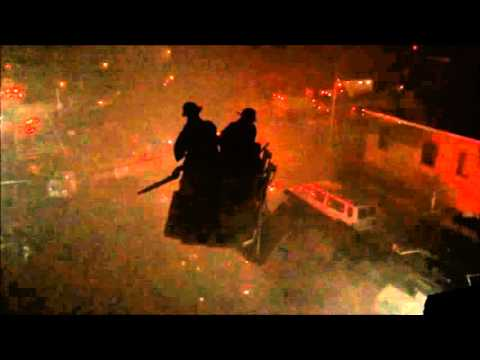 FDNY BATTLING A 3RD ALARM TAXPAYER FIRE ON BLAKE AVENUE IN EAST NEW YORK, BROOKLYN, NYC.