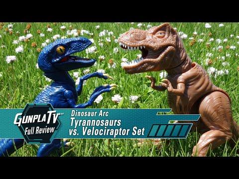 T-Rex Vs. Velociraptor | Gunpla TV