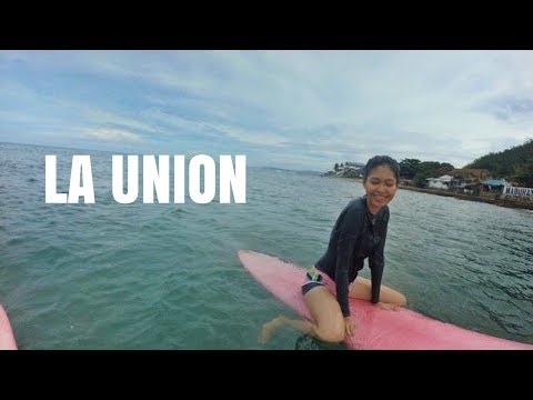 LA UNION, Surfing Capital of the Northern Philippines (IT'S MY FIRST TIME!)