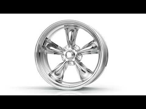 American Racing VN515 Torq Thrust II 360 Spin 22