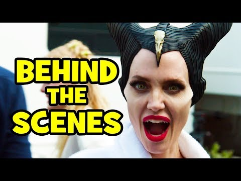 MALEFICENT 2 Behind The Scenes Clips & Bloopers - Mistress of Evil