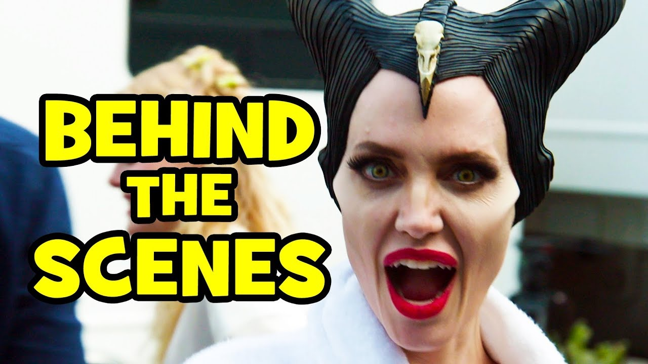 Download MALEFICENT 2 Behind The Scenes Clips & Bloopers - Mistress of Evil