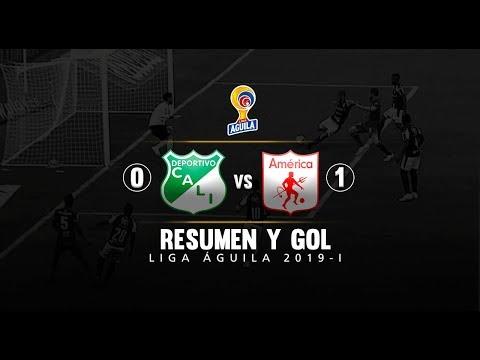 Cali vs América: resumen del partido 0-1 Liga Águila 2019 I