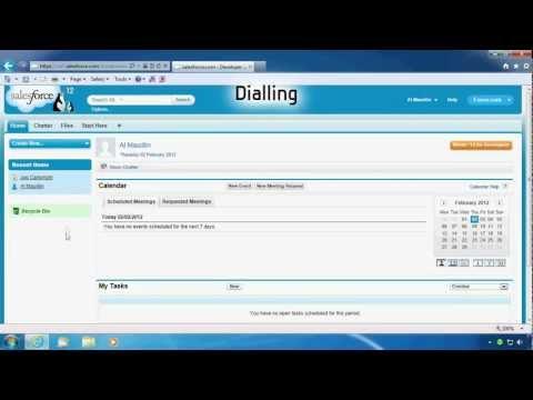 Samsung Xchange CTI desktop integration to Salesforce. OfficeServ & SCM enterprise