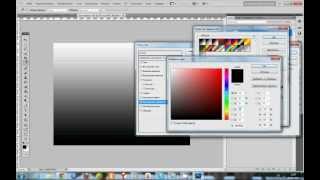 Видеоуроки Adobe Photoshop CS5 - Фон с радужным эффектом