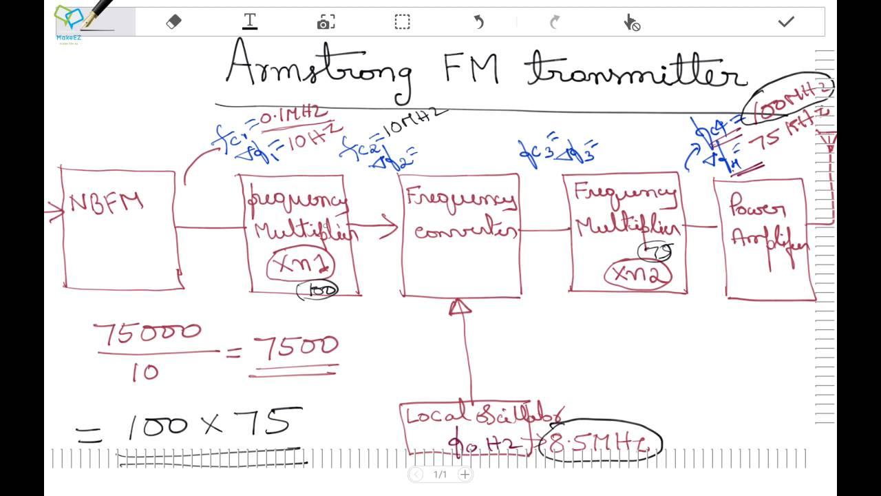 Armostrong Fm Modulator Design Example Youtube