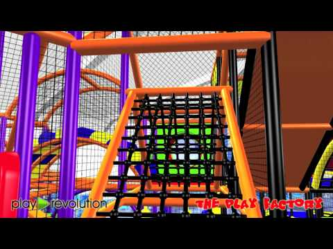 Play Revolution Ltd - Soft Play Toddlers Area Walk Around
