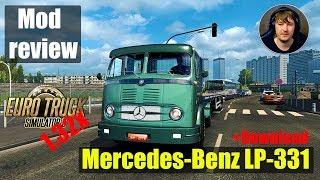 ETS2 1.32x MODS|Mercedes Benz LP 331|Обзор Модов Euro Truck Simulator 2