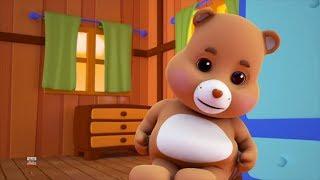 Плюшевый медведь | Дети детские рифмы | плюшевый медведь для детей | Teddy Bear | Song For Babies