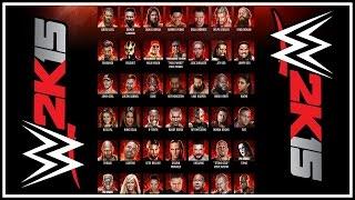WWE 2K15 - Official Roster Revealed & Details! (Superstars, Divas & Legends!)