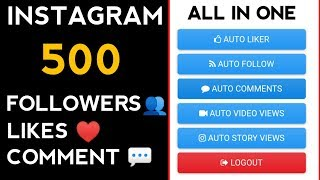 How To Get 100% Real Unlimited Auto Instagram Followers & Likes || Free Instagram Followers Daily