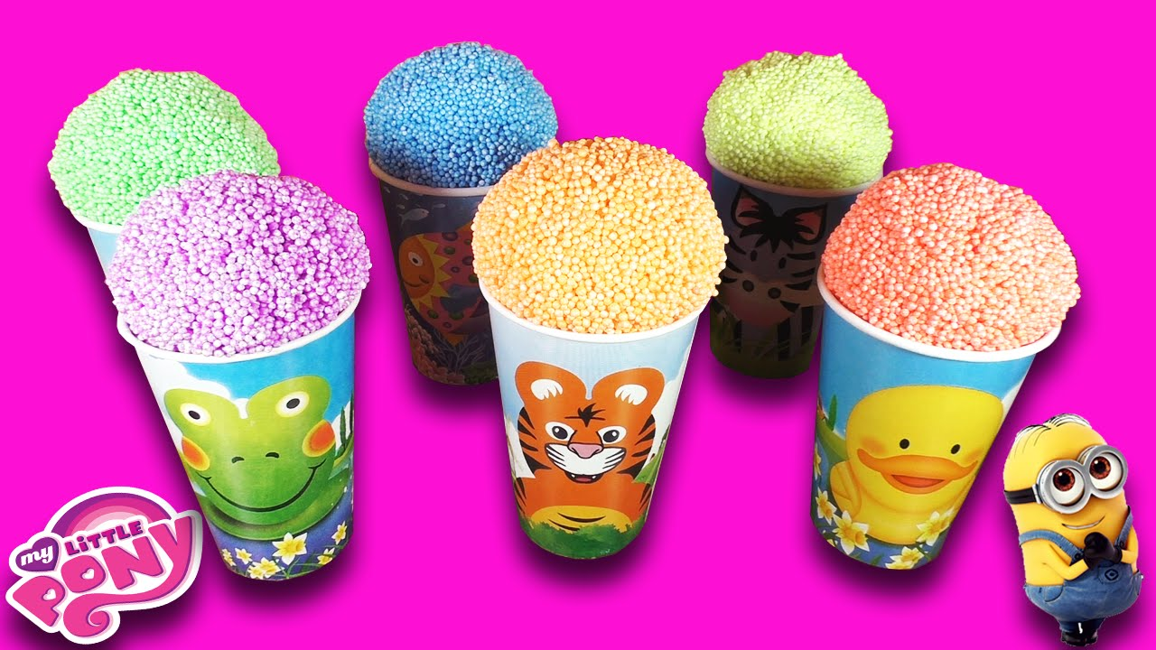 МОРОЖЕНКО СЮРПРИЗ С ИГРУШКАМИ - Ice-Cream with Surprise Toys My Little Pony, Minions, Cars