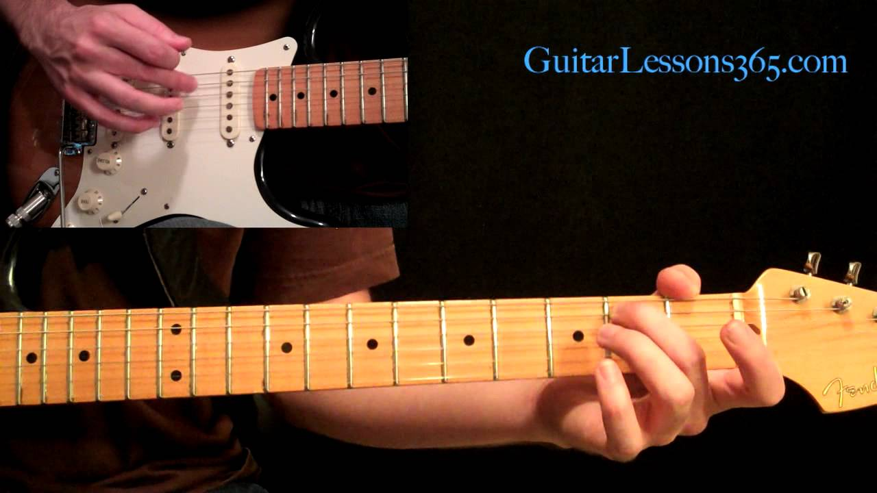 Stairway To Heaven Guitar Lesson Pt3 Electric Guitar Rhythms