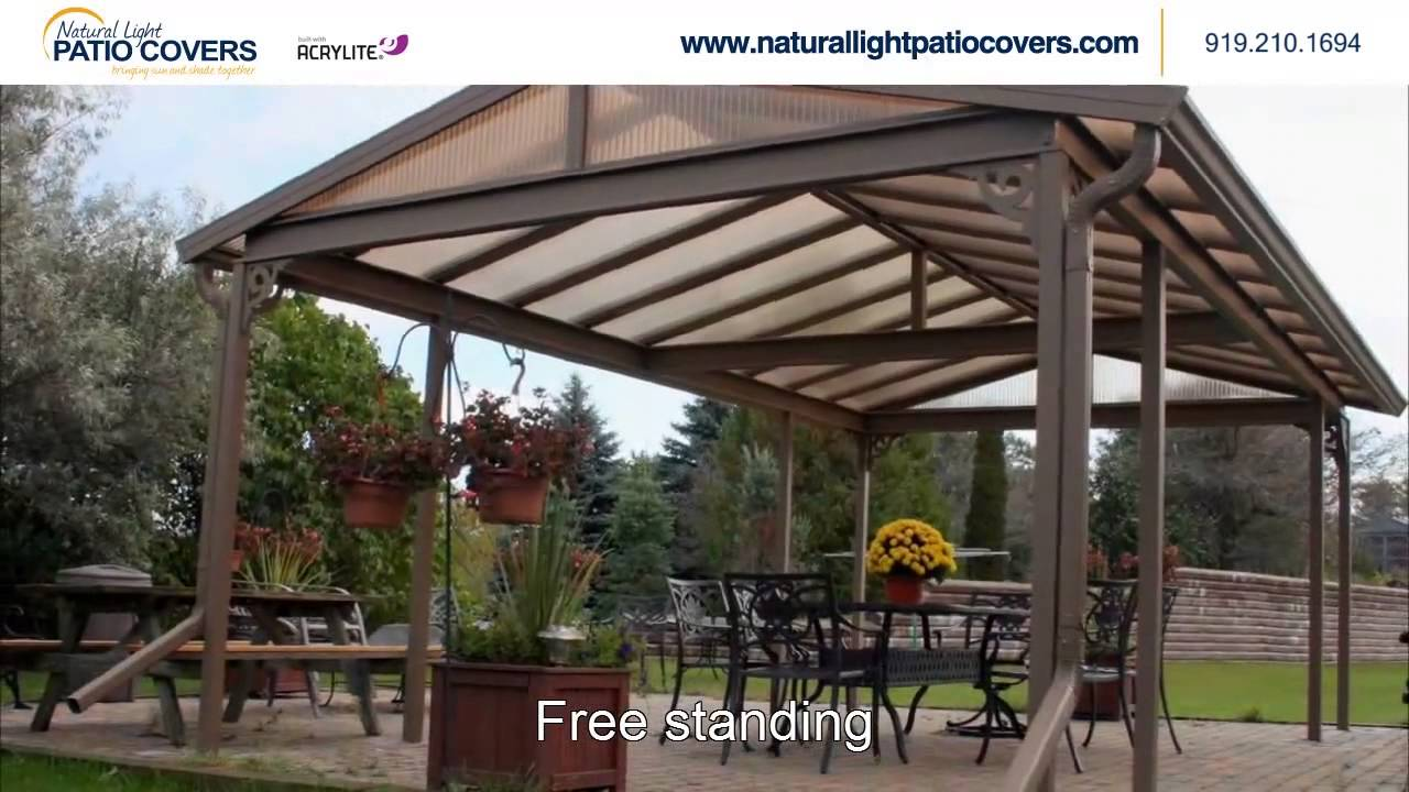 Natural Light Patio Covers NC   YouTube
