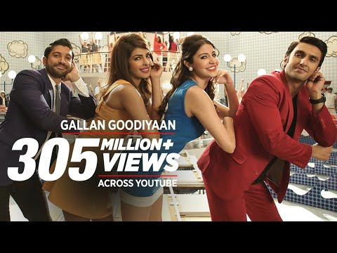 'Gallan Goodiyaan' Video Song | Dil Dhadakne Do | T-Series Mp3