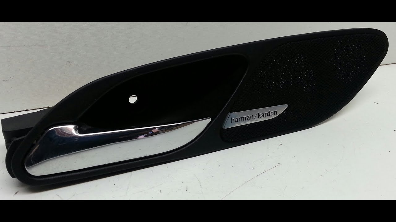 Awesome BMW E46 M3 330ci Interior Door Handle Removal 325ci 323ci   YouTube