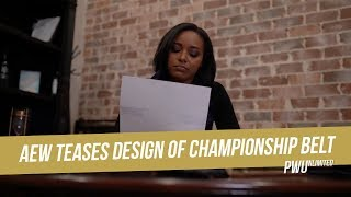 AEW Teases Design Of Their Championship Belt