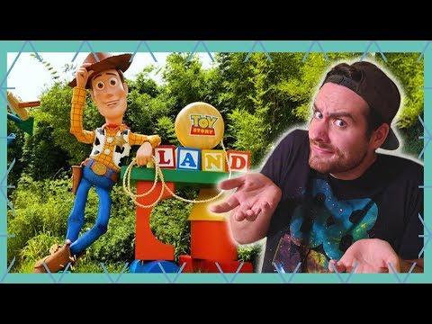 Toy Story Land! Worth The Hype? | Walt Disney World Vlog July 2018