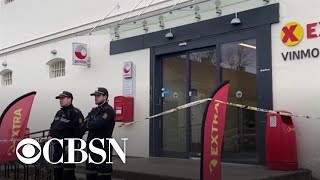 WorldView: Police say deaths in Norway terrorist attack were not from bow and arrow