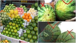 Người bán hoa quả 50 năm ở chợ đầu mối chia sẻ 'bí kíp' lựa trái cây ngon ngọt, không hóa chất