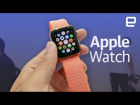 Apple Watch Series 3 hands-on live from Apple Event 2017