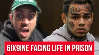 6ix9ine facing LIFE in prison - Adam22 Reacts