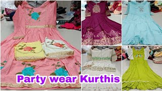 Exclusive Party wear Kurthis c…