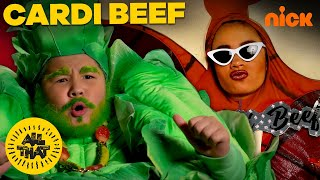 DJ Salad's Drama With Cardi Beef | Pt. 2 | All That