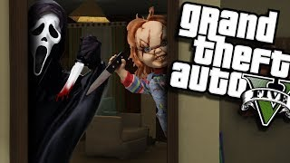 Ghostface Vs Childs Play Andquotchuckyandquot Mod Gta 5 Pc Mods Gameplay