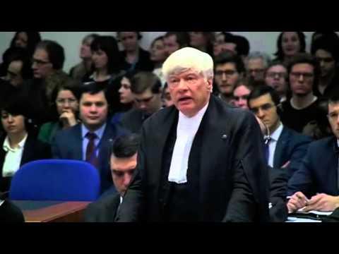 Geoffrey Robertson's speech in ECHR hearing of Perinçek v. Switzerland case