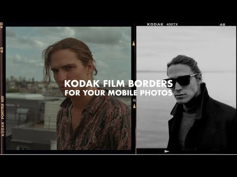 Add Real Kodak Frames To Your Mobile Pictures Youtube