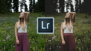 How to Edit Like @mathewjmoisant Instagram Lightroom Tutorial Moody Faded Portrait