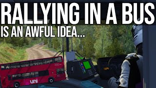 I Took A Double Decker Bus Rallying. Here's What Happened.