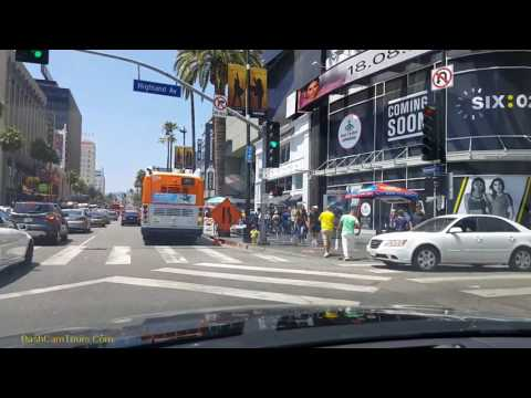 Los Angeles Driving Tour: August 2017