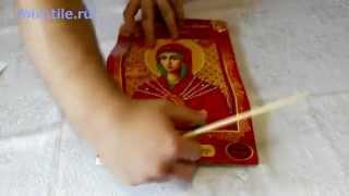Набор Присвятая Богородица Семистрельная. Вышивка бисером. Обзор от mixstile.ru