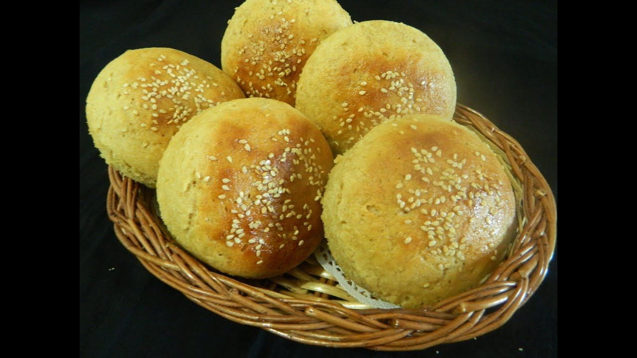 Whole Wheat Burger Buns / Aatta Bun / - By Food Connection