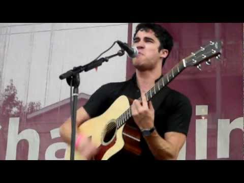 Darren Criss - Stutter (and drumming) @ Northalsted Market Days in Chicago 8/13/11