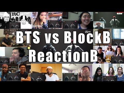 BTS vs BlockB [Boys In Battle] MAMA 2014