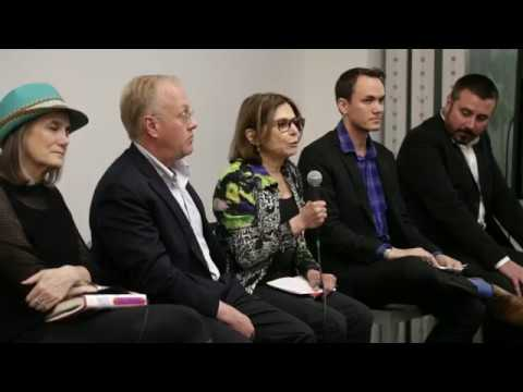 Panel: Chris Hedges, Jeremy Scahill, Amy Goodman, & more (w/ appearance by Julian Assange)