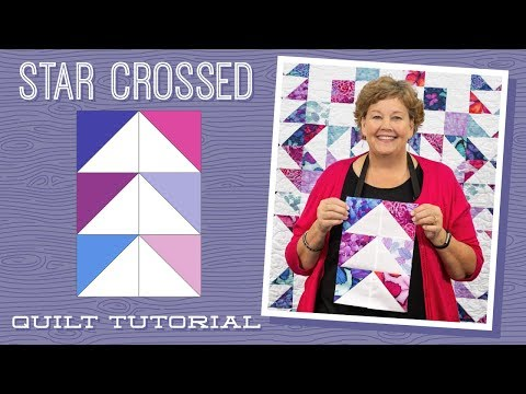 """Make a """"Star Crossed"""" Quilt with Jenny!"""