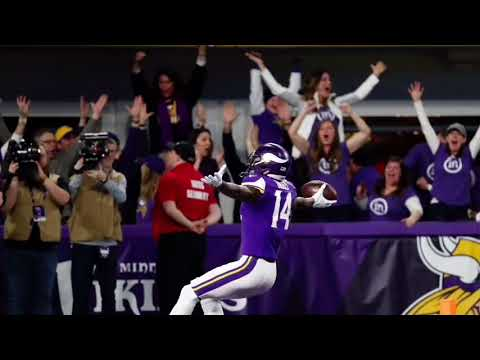 New Orleans vs Minnesota Radio Calls Stefon Diggs Game Winning Touchdown
