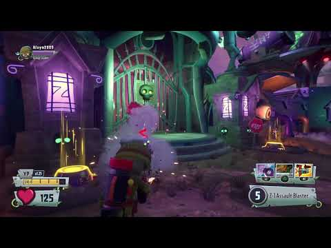 Plants vs Zombies GW2 Rocket Leap