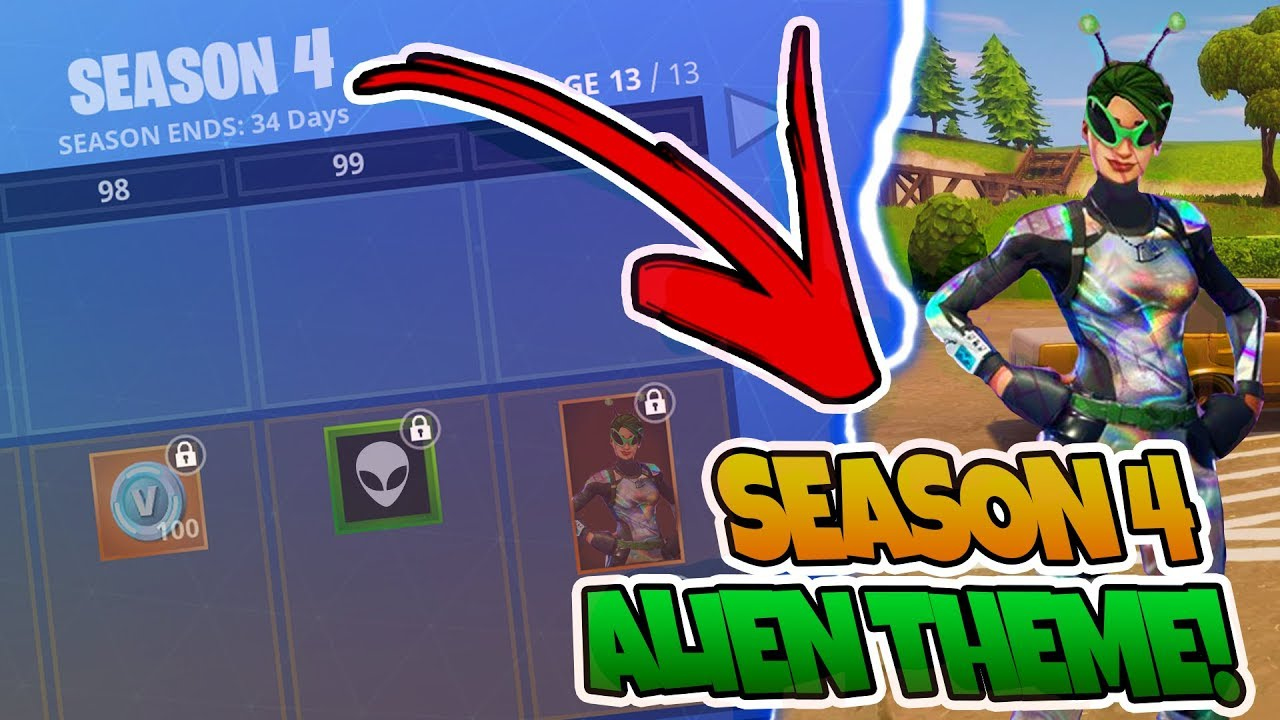 New Fortnite Season 4 Information Fortnite Season 4 Battlepass